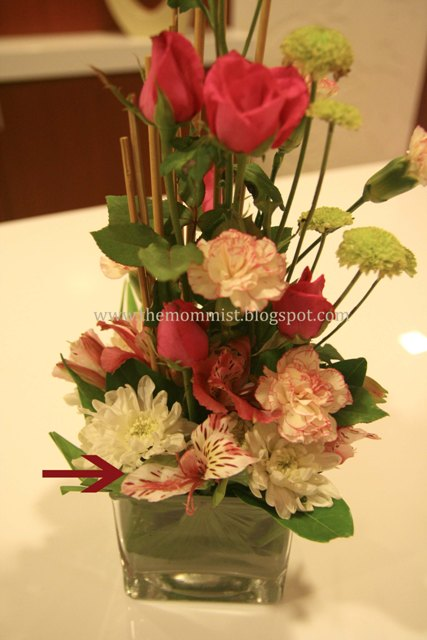 Azalea flower arrangement