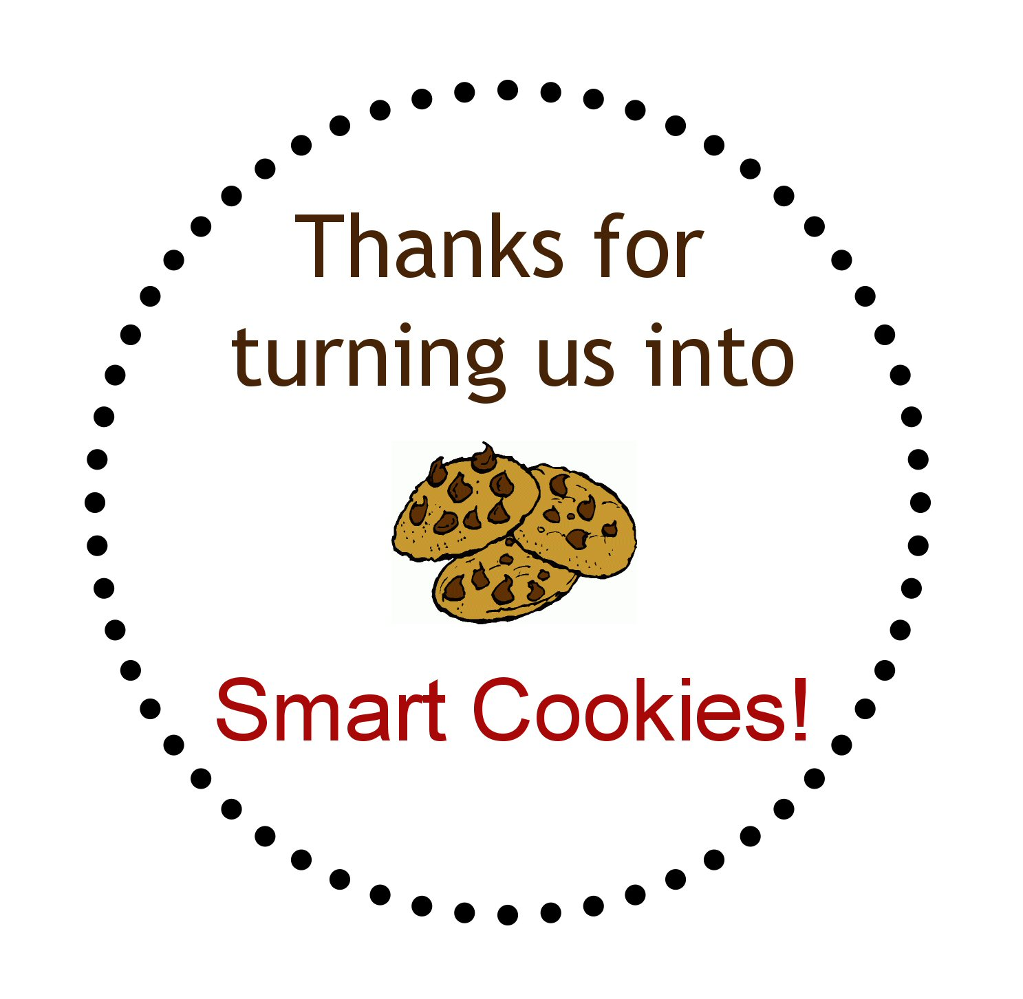 the smart cookie The smart cookie™ will perfectly cut, portion and store your homemade cookie dough so it's ready to bake at a moment's notice anytime you crave fresh baked cookies.
