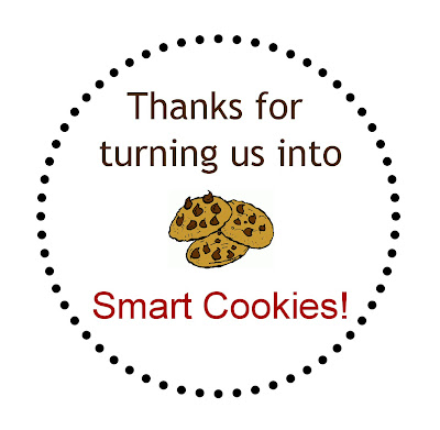 Teacher Appreciation Smart Cookies Printable