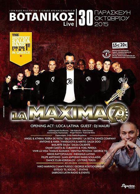 La Maxima 79 @ Βοτανίκος Live
