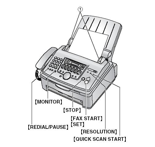 where to use fax machine