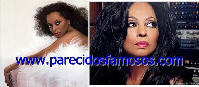 Diana Ross  antes y después