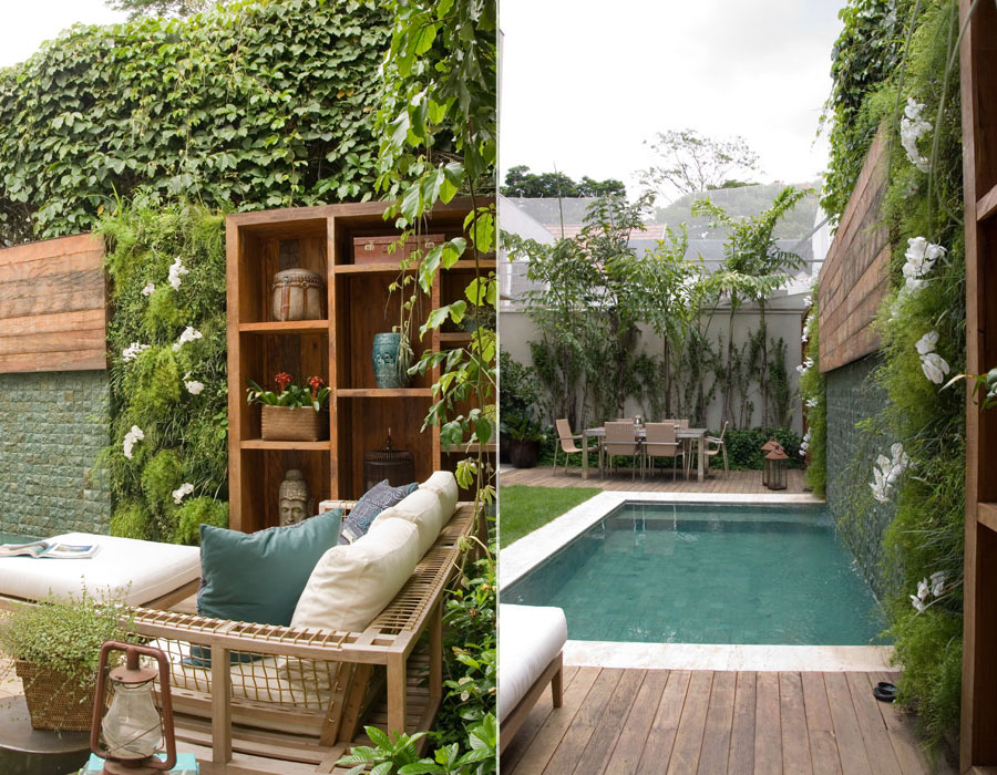 jardim fundo quintal : jardim fundo quintal:Arquitetura.idEA: UM QUINTAL MAIS QUE CHARMOSO!