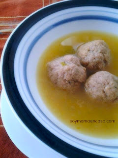 receta facil de sopa de albondigas easy recipe meatball soup