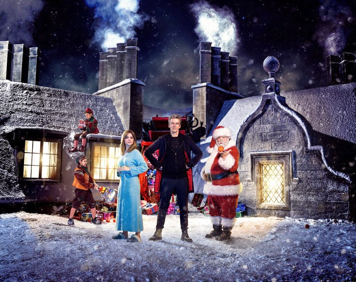 """Doctor Who - 2014 Christmas Special - """"Last Christmas"""" - Promotional Photos + Synopsis Updated"""