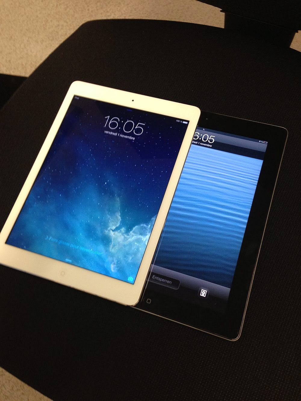 ipad air compared to old ipad