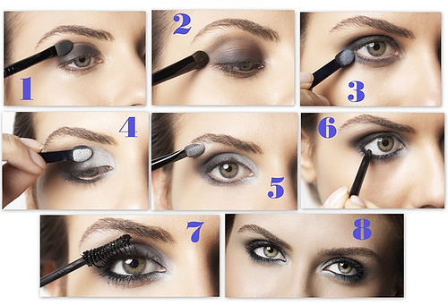 AllBeautyBrands: Step by Step Eye Makeup Picture