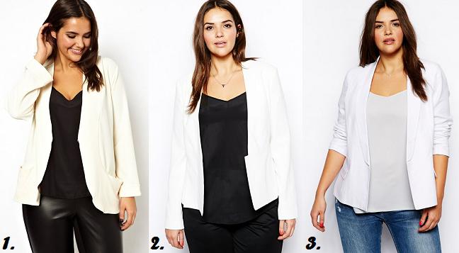 White Female Blazer | Fashion Ql