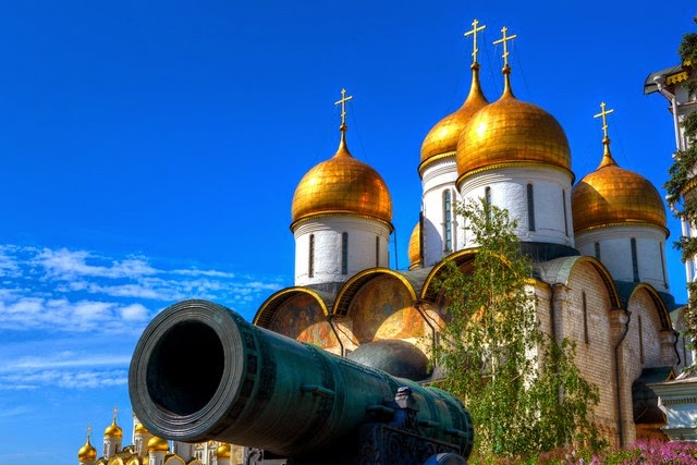 50. Moscow Kremlin (Moscow, Russia)