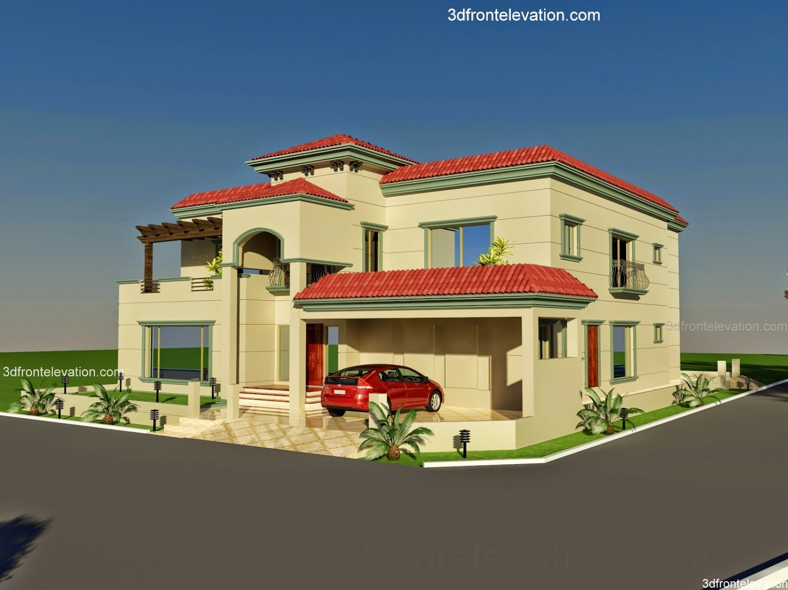 3d front pakistan for Houses images pictures