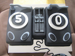 another DJ cake