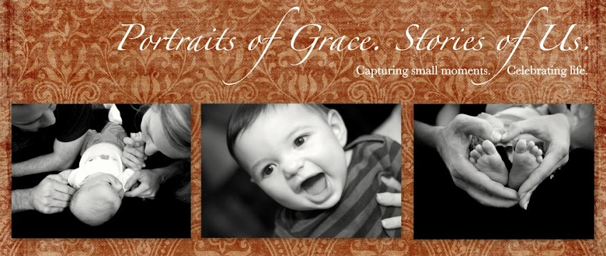 Portraits of Grace. Stories of Us.