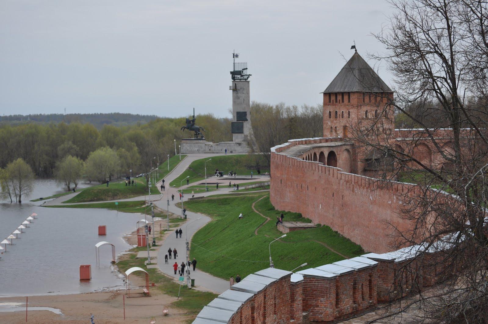 Where is the lake Ilmen in Russia 77