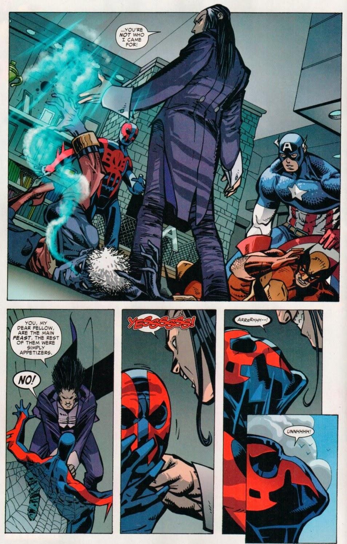 Morlun spiderman - photo#15