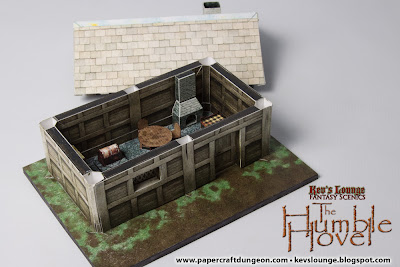 Hovel with roof removed