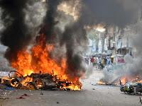 Terjadi Bentrok Antara Kelompok Hindu dan Islam di Gujarat India