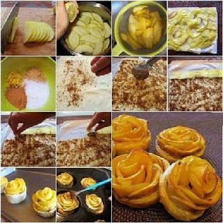 Pastel de Manzana, Ideas de Decoracion y Presentacion