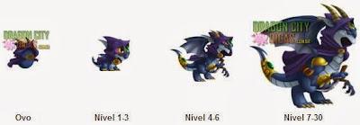 Dragão Elfo das Sombras