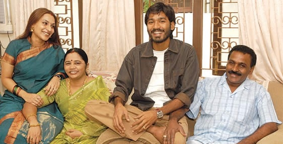 Dhanush Family Photos With Kids Actor Dhanush Family P...