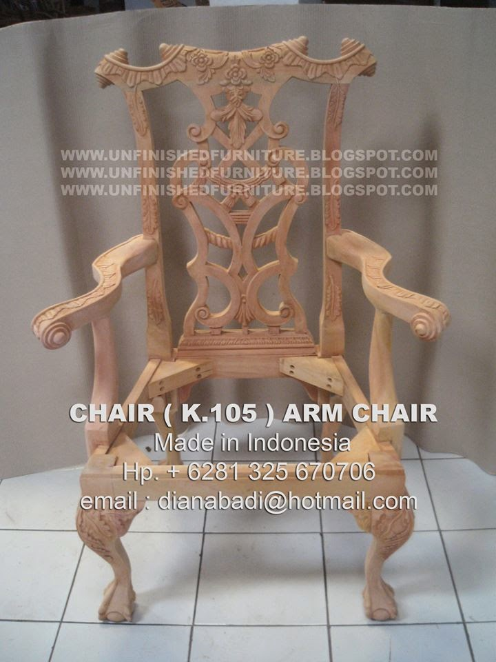 supplier furniture mahogany supplier wooden frame chair supplier classic arm chair supplier indonesia dining chair