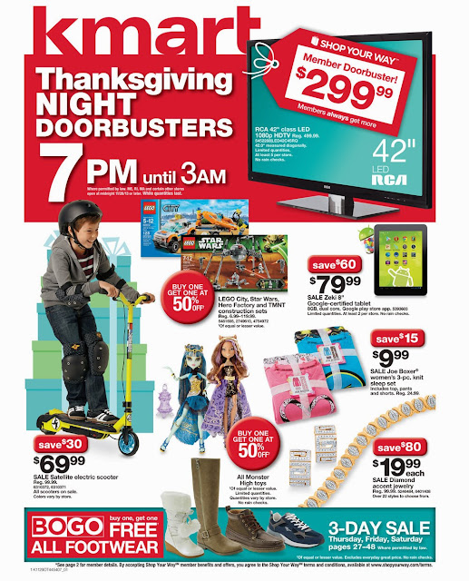 Kmart Black Friday Ad 2013