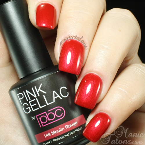Pink Gellac Moulin Rouge Swatch