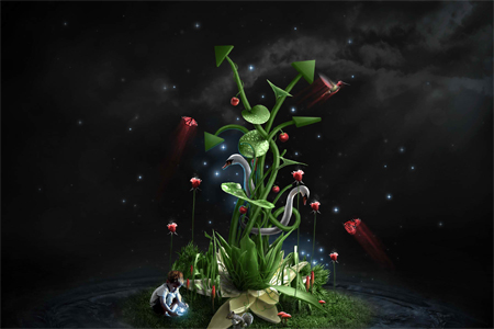 Nature Photo Manipulation: Photosynthesis