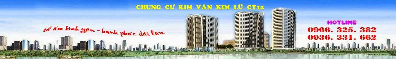 BẢNG GIÁ CHUNG CƯ KIM VĂN KIM LŨ CT12 - GIÁ RẺ