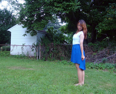 Sugarlips Rustle of Blue Skirt