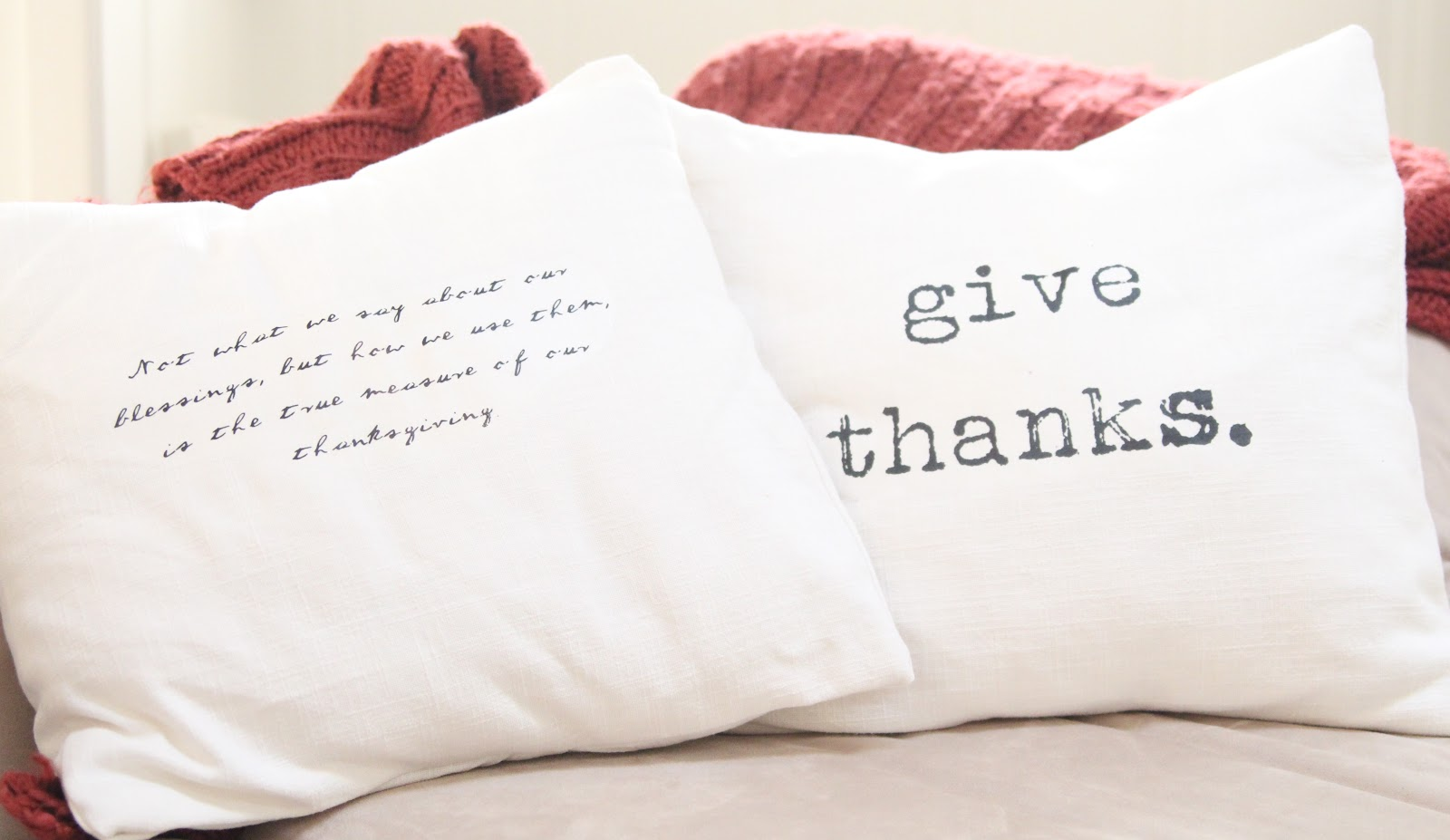 pillows thankful to october diving for am how diy iron pillow thrift on a an tutorial sew i thanksgiving
