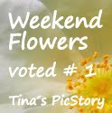 Weekend Flowers voted #1