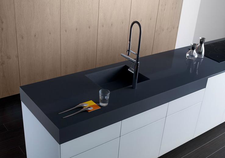 Fregaderos bajo encimera c modos y elegantes cocinas - Muebles para fregadero de cocina ...