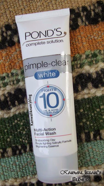 Ponds Complete Solution Pimple Clear White Multi-Action Face Wash