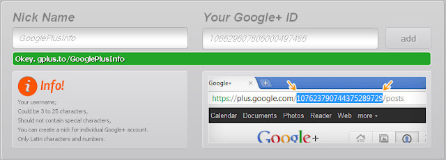 10 Sites to Create Shortened Google Plus Profile URL: Gplus.to