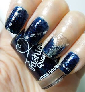 Etude House Fashion Queen dark jeans nails