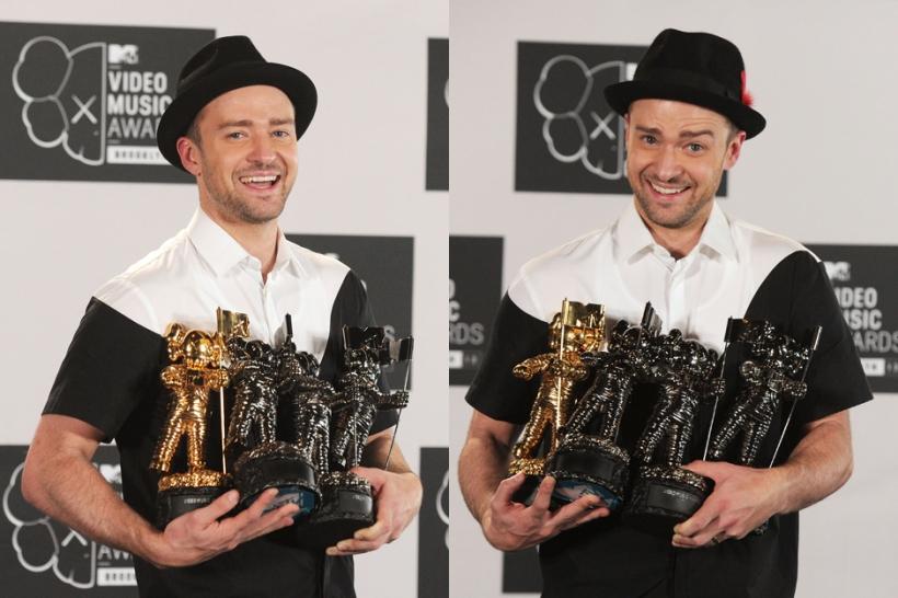 Justin Timberlake MVAs 2013