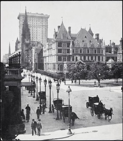 The newyorkologist vanderbilt mansion at fifth avenue and for Old new york mansions