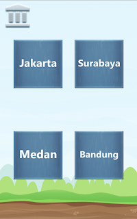 INDONESIA MAP CITY PUZZLE