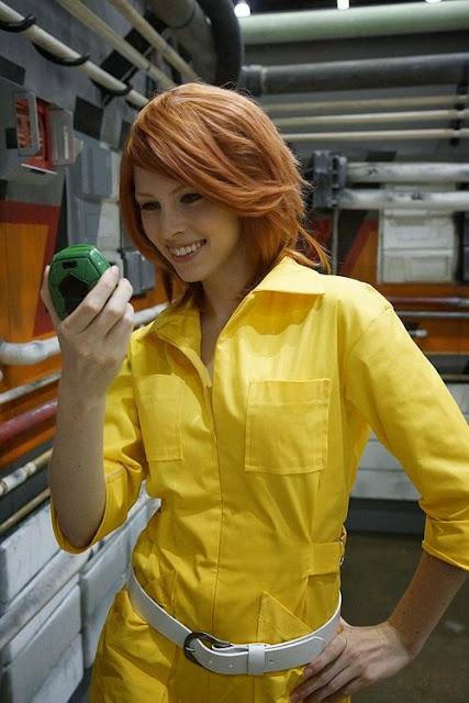 Cosplay April O'Neil, chicas disfrazadas de la reportera de las Tortugas Ninja 4