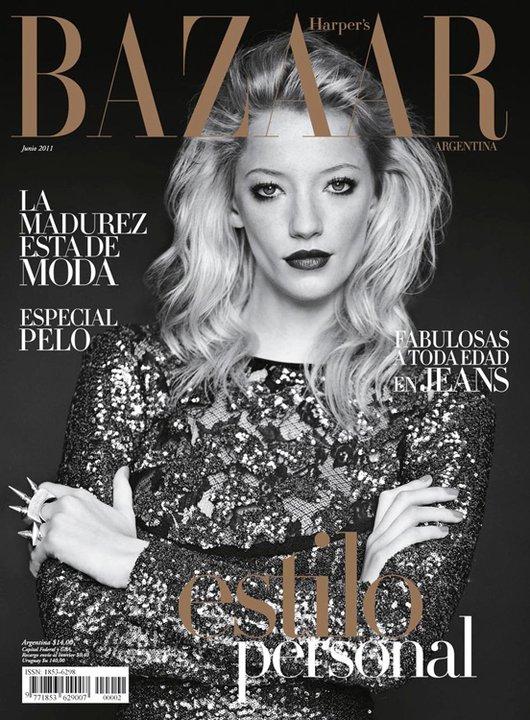 Cover girl milagros schmoll en harper s bazaar argentina for Bazaar argentina
