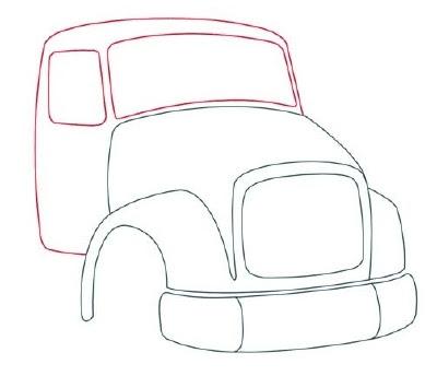 Desenhos Para Colori caminhao de trabalho ultilitario bombeiro desenhar