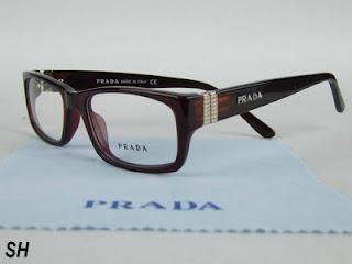 Ma paire de lunettes Prada Triple Foyer