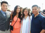 Hunter, Belle, Selena, and I.