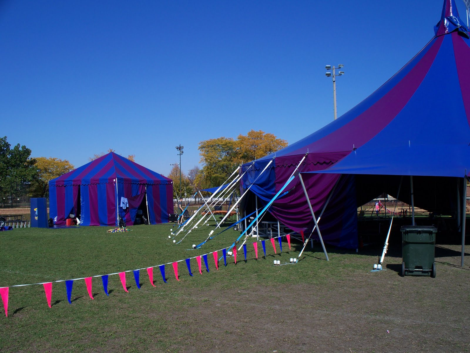 Midnight Circus Tent in Action! & Midnight Circus Tent in Action! | Armbruster Tent Maker