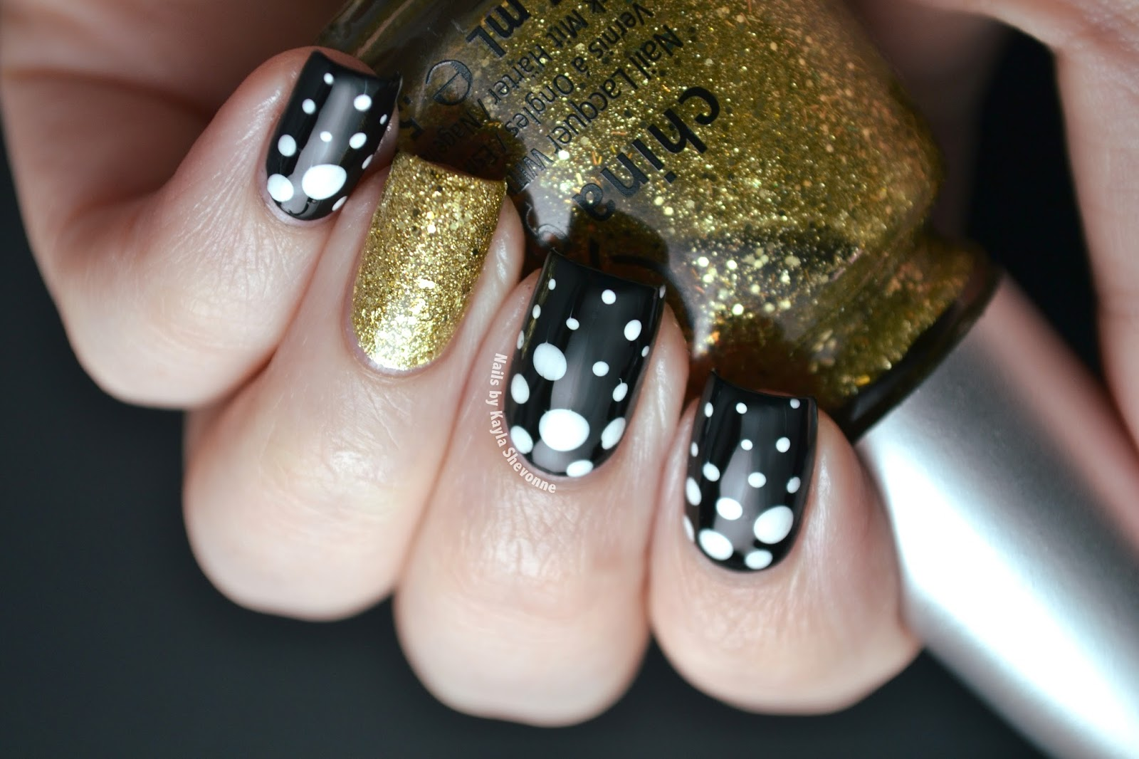 Nails by Kayla Shevonne: New Year\'s Eve Nails - Better Late Than Never!