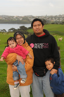 Kami Di Auckland, New Zealand....