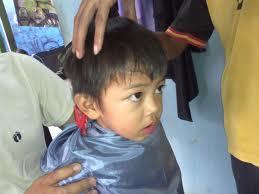 Inilah Cara cara memotong Rambut pada anak