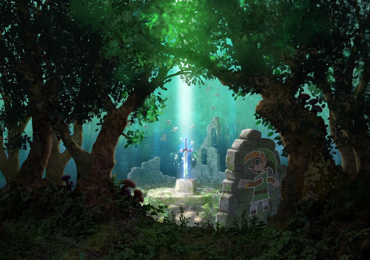 realm beyond sight the legend of zelda a link between