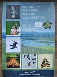 BEDDINGTON FARMLANDS BIRD AND WILDLIFE REPORT 2012