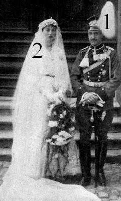 Mariage d'Eugen zu Oettingen-Wallerstein et de Maria Anna zu Hohenlohe-Schillingsfürst